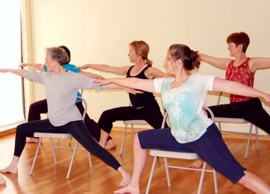 Communify qld chair yoga for Chair zumba